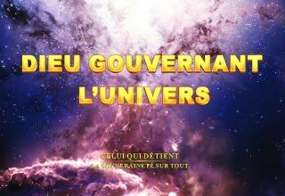 Dieu gouvernant l'univers
